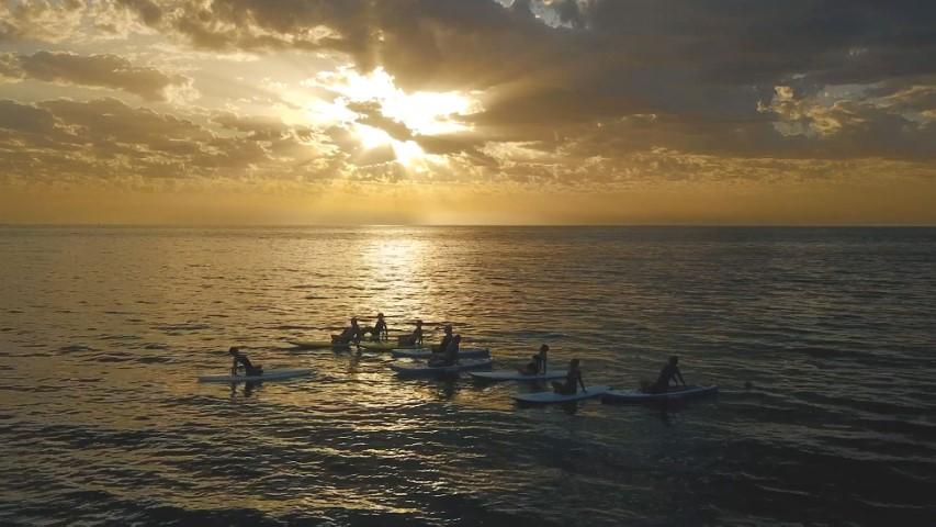 Sunset SUP Yoga Class