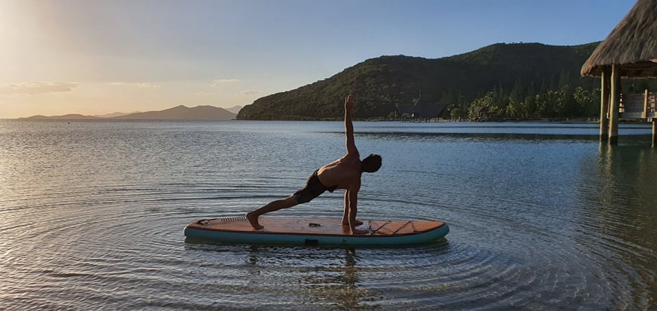 NEW CALEDONIA SUP YOGA