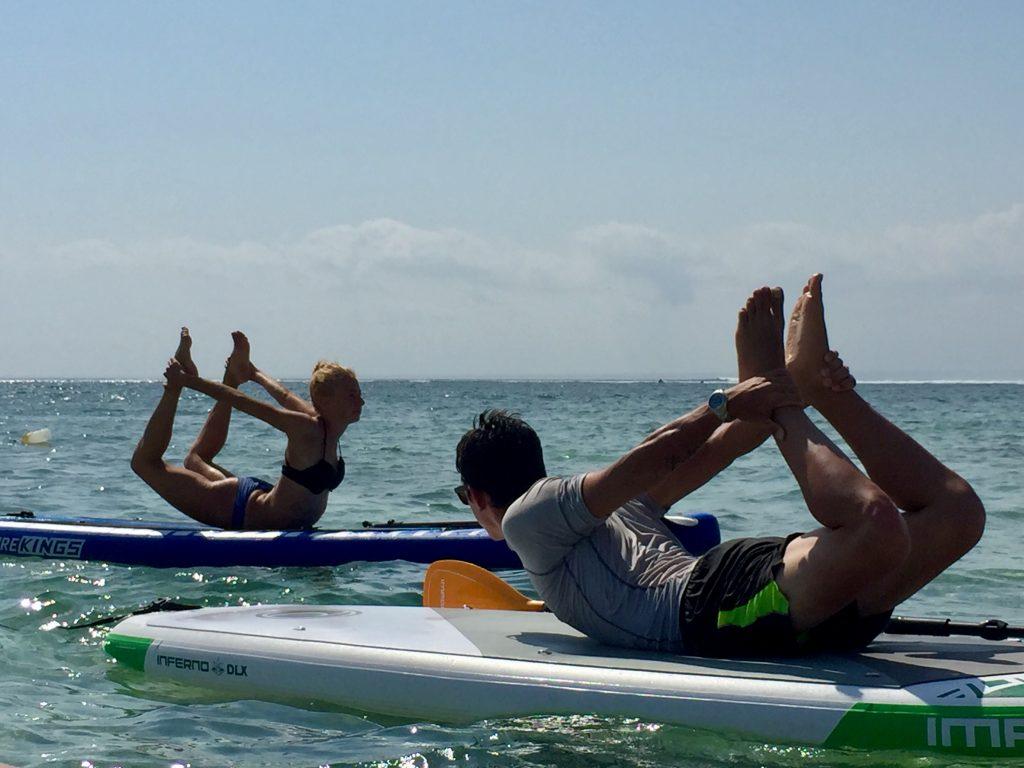 Ronja ISYA SUP Yoga instructor