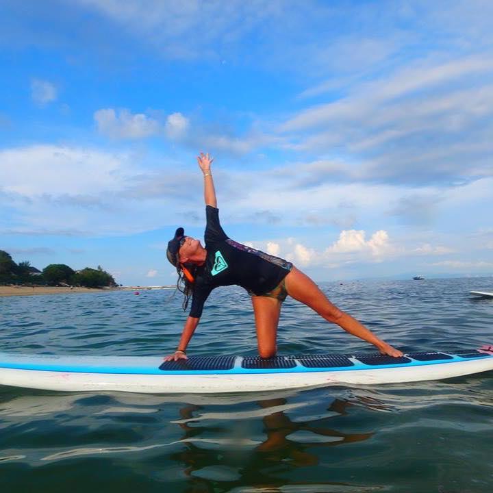 Dianne SUP Yoga